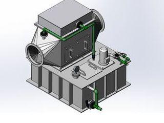Разработаны горизонтальные газопромыватели из полипропилена