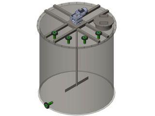 Разработана линейка химреакторов и нутч-фильтров из полипропилена