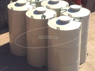 Емкости для соляной кислоты для АО «ЮГК»