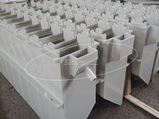 Корпус электролизера с блоками для электродов