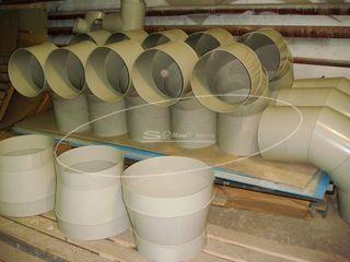 Вентиляция из полипропилена с муфтовым соединением