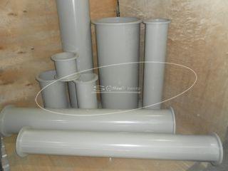 Вентиляция из полипропилена с фланцевым соединением
