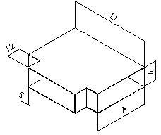 Тройник 90 прямоугольный без соединения из полипропилена, размер сечения 1600х1200